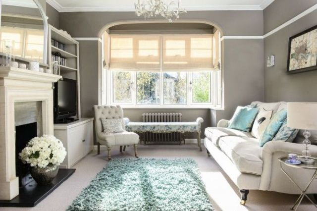 Chic and cosy living room  - housebeautiful.co.uk