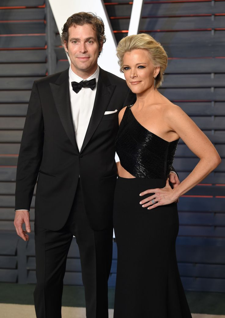 BEVERLY HILLS, CA - FEBRUARY 28:  Douglas Brunt and Megyn Kelly attend the 2016 Vanity Fair Oscar Party Hosted By Graydon Carter at Wallis Annenberg Center for the Performing Arts on February 28, 2016 in Beverly Hills, California.  (Photo by Karwai Tang/WireImage) via @AOL_Lifestyle Read more: https://www.aol.com/article/entertainment/2017/02/03/megyn-kelly-reveals-2016-election-affected-marriage/21706549/?a_dgi=aolshare_pinterest#fullscreen