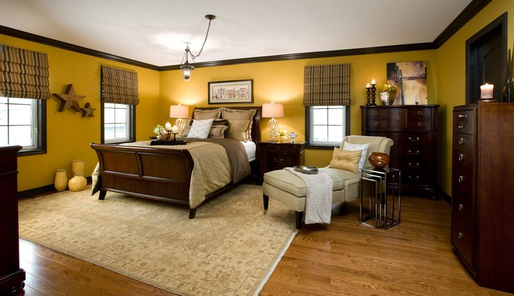 Color confidential jane lockhart colour confidential i love the richness of this color notice Master bedroom with yellow walls