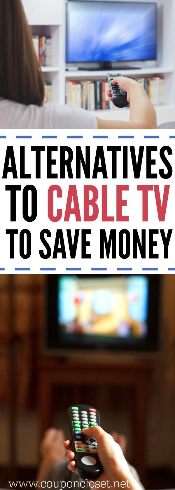 Alternatives to Cable TV . Here are some easy Tips to Cutting Cable TV so you can save money every month.