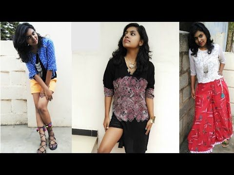 Indo Western Outfit Ideas | Boho Outfits Lookbook - YouTube
