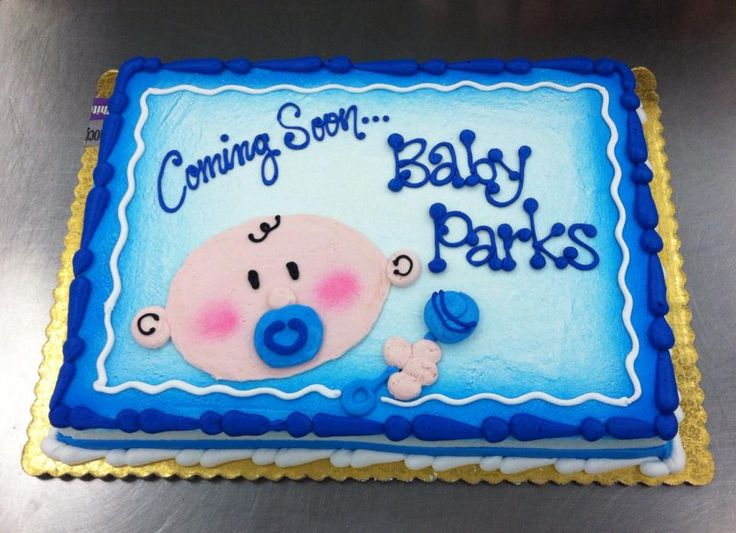 Baby Face!  Baby Shower cake by Stephanie Dillon, LS1 Hy-Vee