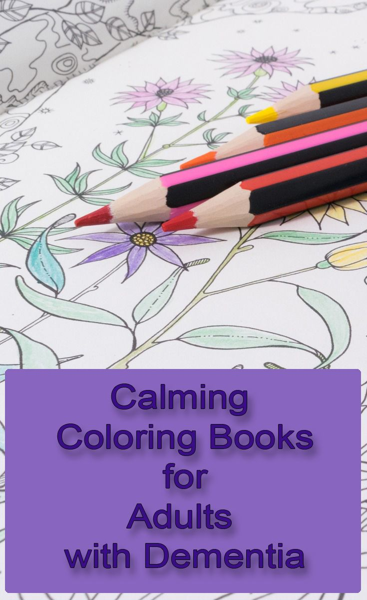 Coloring Books For Adults With Dementia