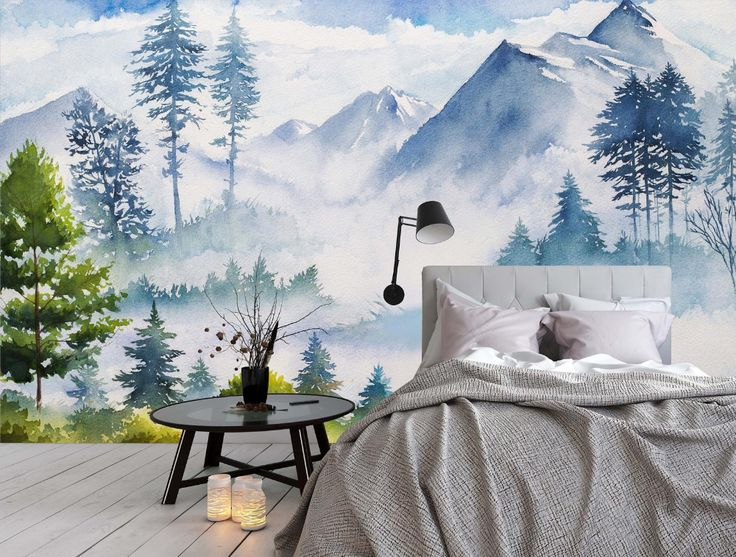 Removable Wallpaper Mural Peel & Stick Self Adhesive