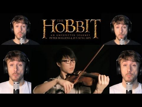"""[PLUS VIOLIN] The Hobbit - Misty Mountains - Peter Hollens Acappella, via YouTube. An AMAZING acappella cover that will leave you more haunted than ever! Do NOT  put off the joy that his voice will bring you! None of this """"pin now to enjoy later"""" garbage. CLICK IT! PLAY IT ! LISTEN TO THIS NOW! ahhhh!  ** Just wish it was a cello or bass instead of violin for this one, though."""