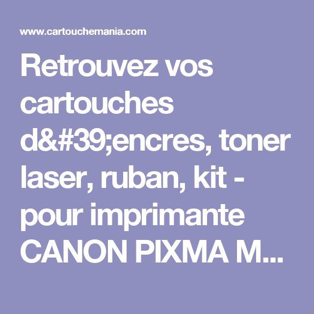 Retrouvez vos cartouches d'encres, toner laser, ruban, kit - pour imprimante CANON PIXMA MP180, cartouche pas cher à paris.