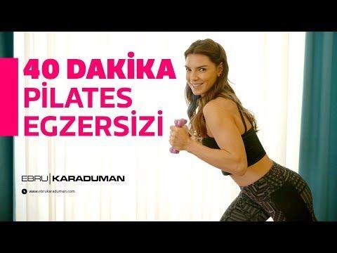 PİLATES | Tüm vücudu sıkılaştıran 40 dakika pilates egzersizi! - YouTube