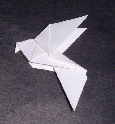Origami: Origami Dove