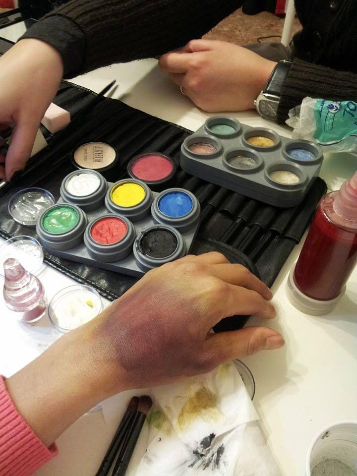 Corso di Makeup effetti speciali