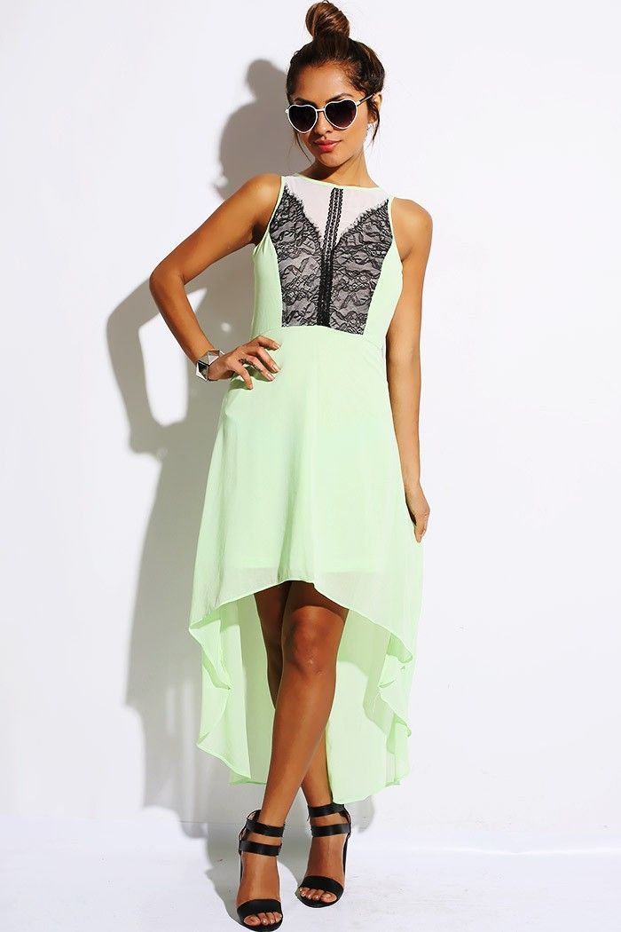 Lime Green Club Dresses 27 best Cocktai...