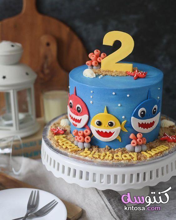 افكار لـ حفلة عيد ميلاد بشخصيات بيبي شارك اصنعي بنفسك ديكور حفل عيد ميلاد طفلك بشخصيات بي Shark Themed Birthday Party Shark Birthday Cakes Shark Theme Birthday