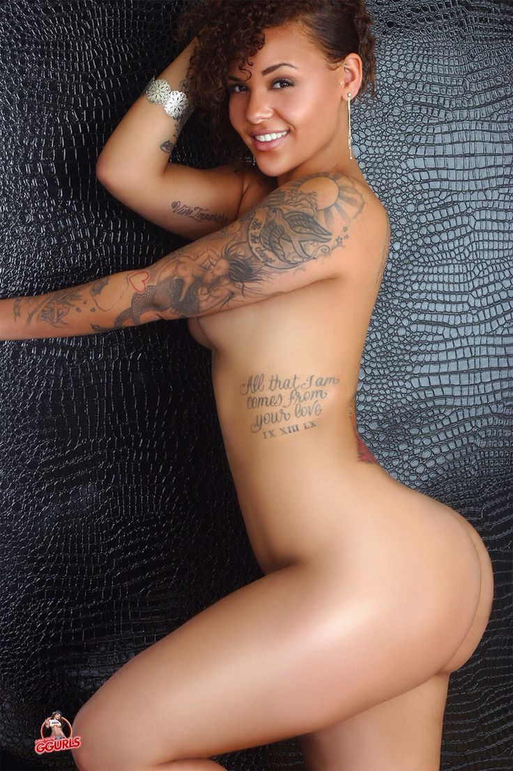 Naked black girl tattoo