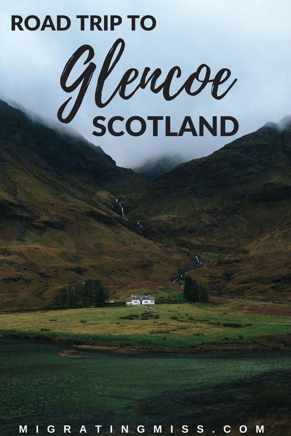 Viagem pela Escócia: Edimburgo a Glencoe de carro   – Scotland