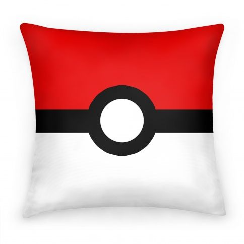 Pokeball pillow