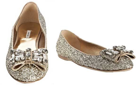 The shoes have it...: Bows Flats, Bow Flats, Cutest Flats, Beautiful Flats, Flats Bridal Shoes, Sparkle Flats, Flat Shoes, Flat Bridal Shoes, Dancing Shoes