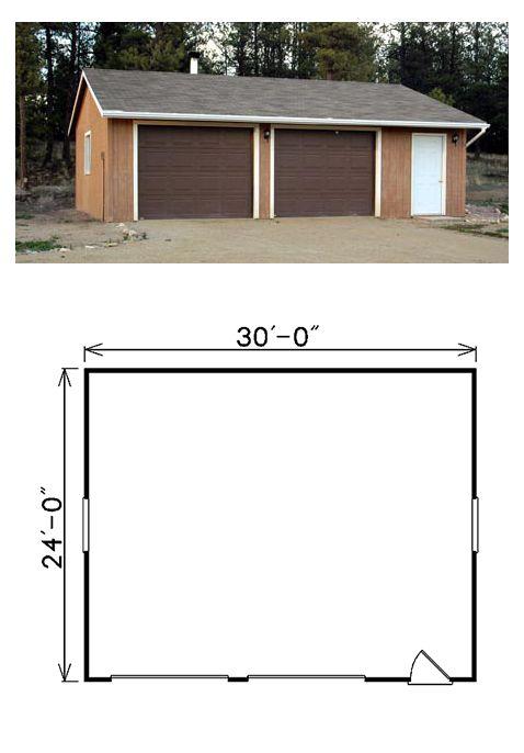 28 best TwoCar Garage Plans images – Garage Plans 24 X 30