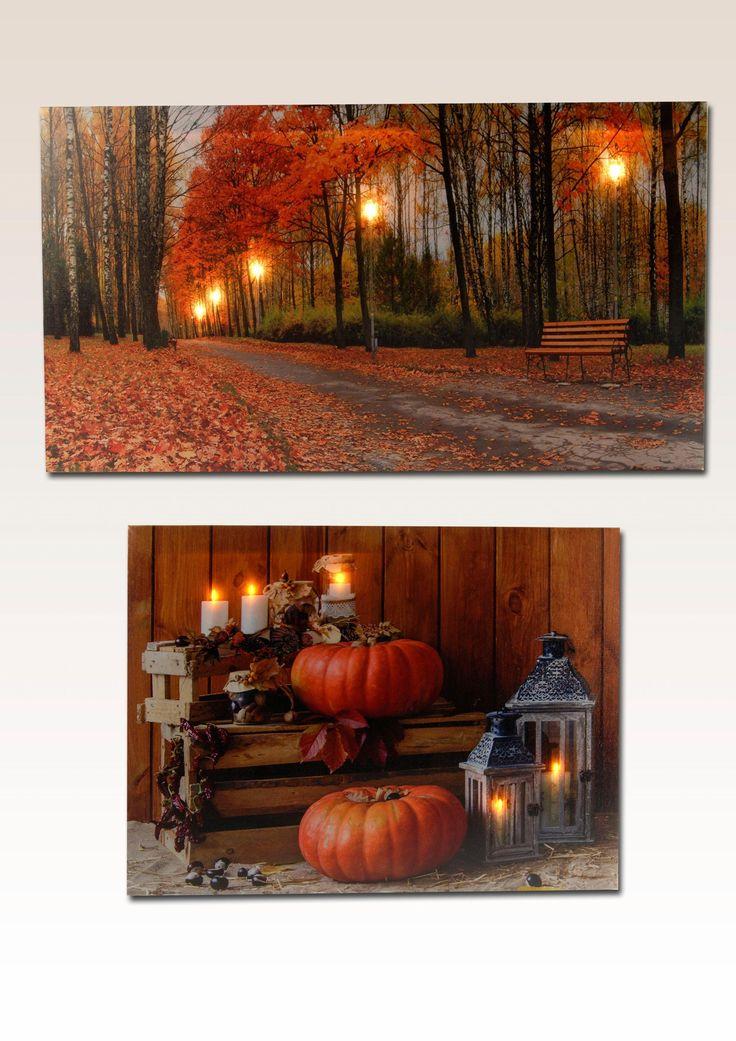 Home affaire LED-Bilder (2 tlg.) 60/30 cm & 40/30 cm »Autumn« braun Jetzt bestellen unter: https://moebel.ladendirekt.de/dekoration/bilder-und-rahmen/bilder/?uid=38dda71b-5bba-50d5-9db9-60b28203ee2f&utm_source=pinterest&utm_medium=pin&utm_campaign=boards #bilder #rahmen #ledbilder #dekoration