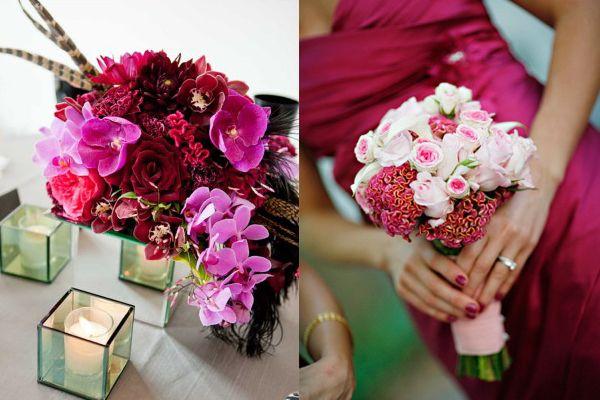 Fuschia And Orange Wedding Invitations: Best 25+ Fuschia Wedding Flowers Ideas On Pinterest