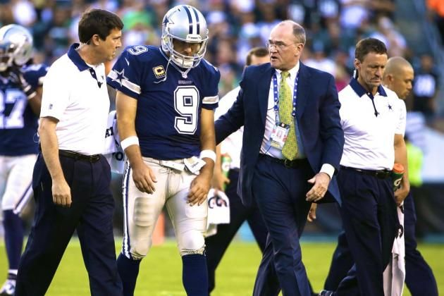 Tony Romo Injury: Updates on Cowboys Star's Clavicle and Return