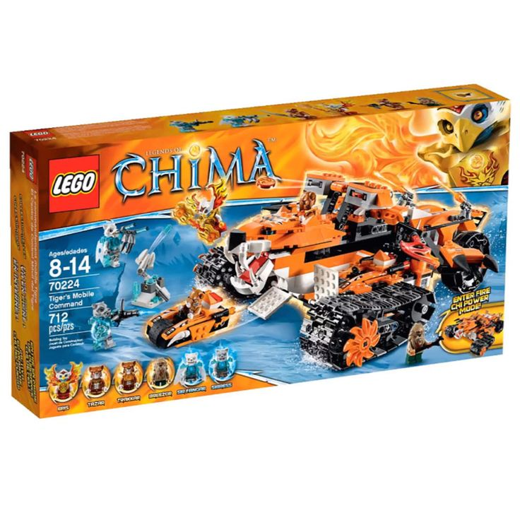 LEGO® 70224 - LEGO® Legends of CHIMA - La base mobile de combat 70224 - LEGO® Legends of CHIMA - La base mobile de combat D'autres jouets pour bebe => http://amzn.to/2nK8lcv