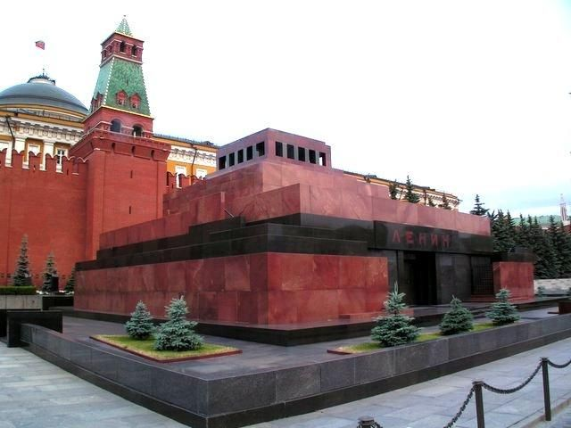 Lenin's Tomb: One of the focal points of Red Square is the tomb of Vladimir Illyich Ulanov, better known as Lenin. The Russian revolutionary and Soviet leader's remains were put on public display shortly after his death in 1924.