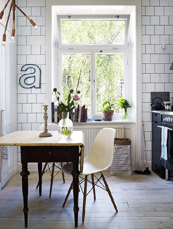 A charming Stockholm flat divided into two