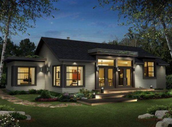 La Maison Plain Pied Moderne Prefab Modular Homes Modern Prefab Homes Prefab Homes