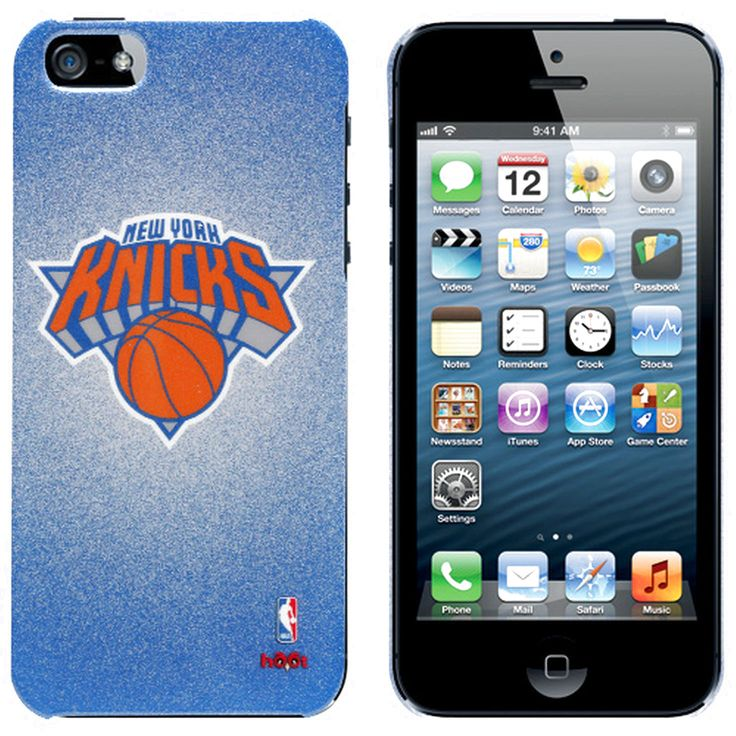 New York Knicks Team Logo iPhone 5 Case - Royal Blue - $22.79