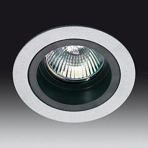 Onok - Empotrable basculante circular para Halógena ó LED,color Gris