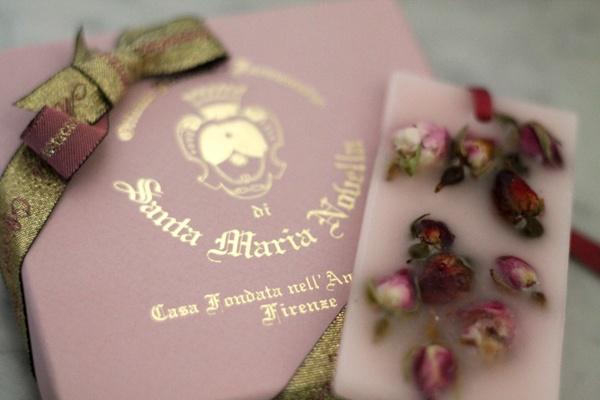 .Rose wax tablet - Santa Maria Novella