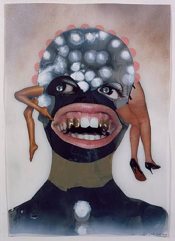 Wangechi Mutu 2004 Untitled (Forensic Forms)