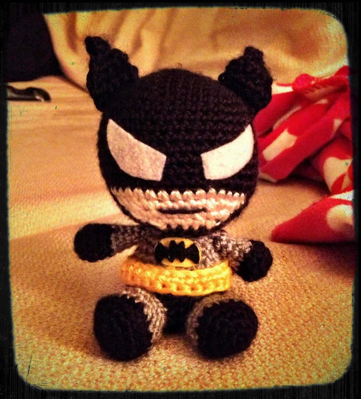 Amigurumi Crochet Batman : 17 Best images about Crochet heros on Pinterest ...