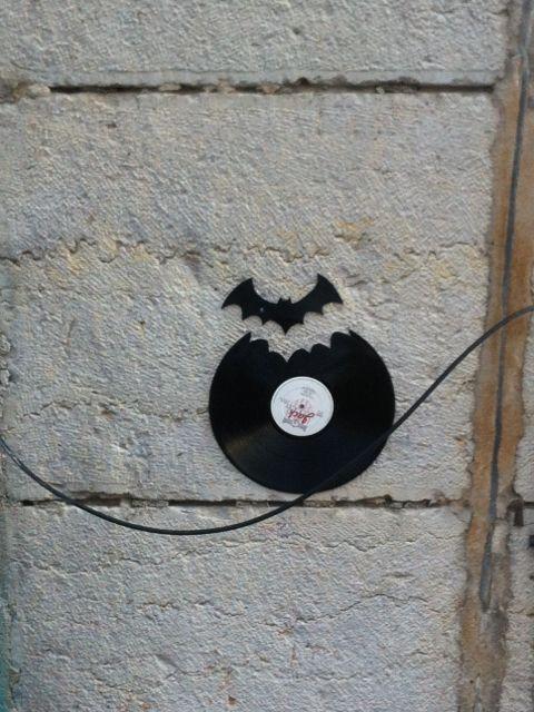 Batman is in Lyon #Streetart #Lyon #Urbacolors