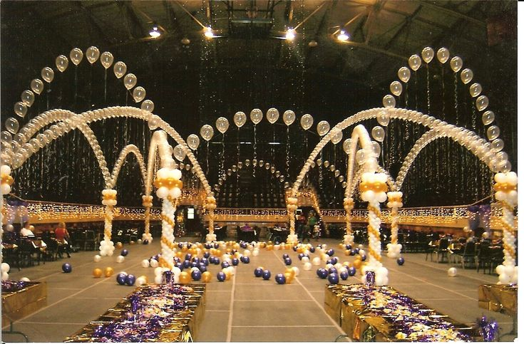 a night in paris theme balloon decor - Google Search