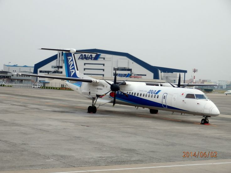 ANA(ANA WINGS) JA855A Bombardier DHC-8-402Q Dash-8 All Nippon Airways