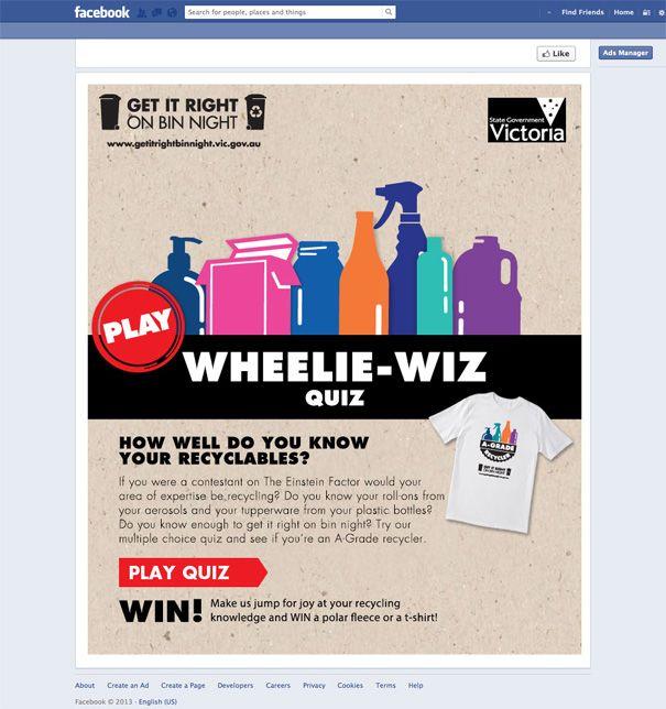 Wheelie-Wiz Quiz - custom Facebook app