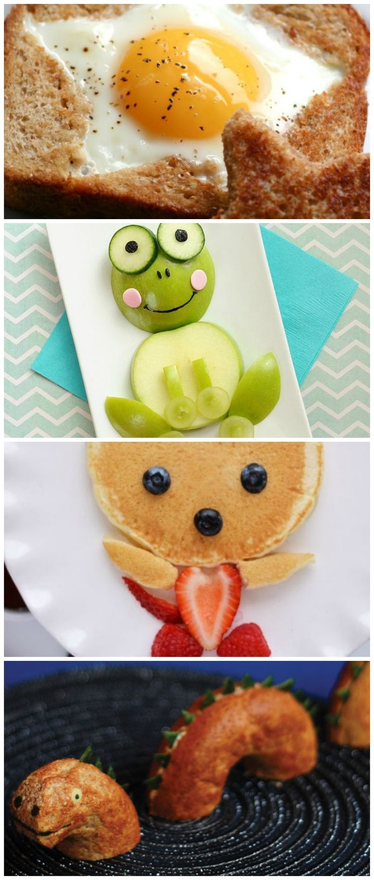 It's okay to play with food... as long as you're doing it to encourage kids to eat well. :)