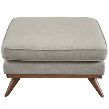 Freedom's Dahlia Ottoman in Austria shell works perfectly with the matching Dahlia Sofa. The Dahlia range features splendid design details that accentuate it's mid-century design, including a solid timber plinth and tapered timber splayed legs.  http://www.freedom.com.au/furniture/sofas/ottomans/23495265/dahlia-ottoman-austria-shell/