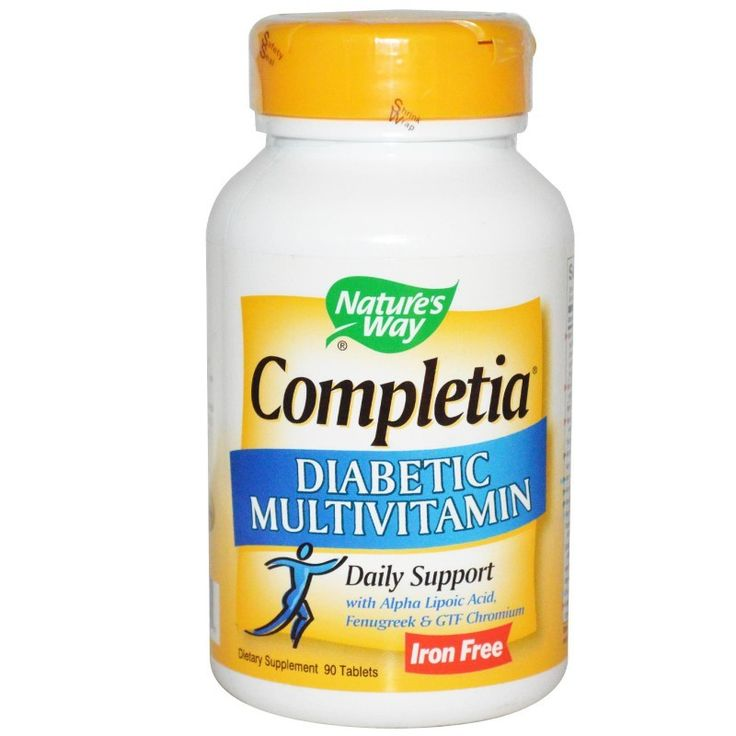 Nature's Way Completia Diabetic Multivitamin Iron Free 90 Tablets at Megavitamins Supplement Store Australia.Nature's Way Completia Daily Support  Alpha Lipoic Acid, Fenugreek & GTF Chromium.Nature's Way Completia is Multivitamin & Mineral for Diabetics.