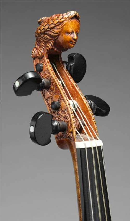 c1685 Joachim Tielke (1641-1719) ~ Violin    Beautiful Wood Workz