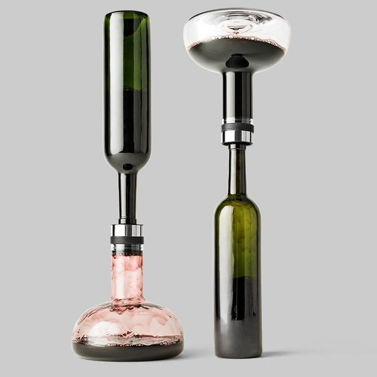 The elegant Menu Winebreather Carafe adds 10x more oxygen to your wine in under 2 minutes. The Menu Winebreather Carafe is the most effective aerator on the market and was the undisputed winner of a Eurofins aerating test. IF Design Award Winner Good Design Award Winner