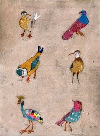Matild Gros | uccelli