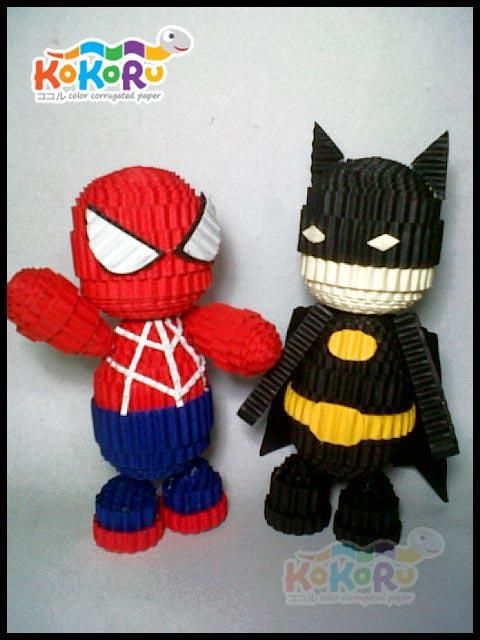 KoKoRu Batman & Spiderman