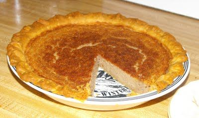 ... of a Southern Kitchen: Navy Bean Pie (sweet, delicious,custard-y pie