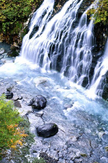 Shirahige Falls, Hokkaido, Japan 白髭の滝 北海道