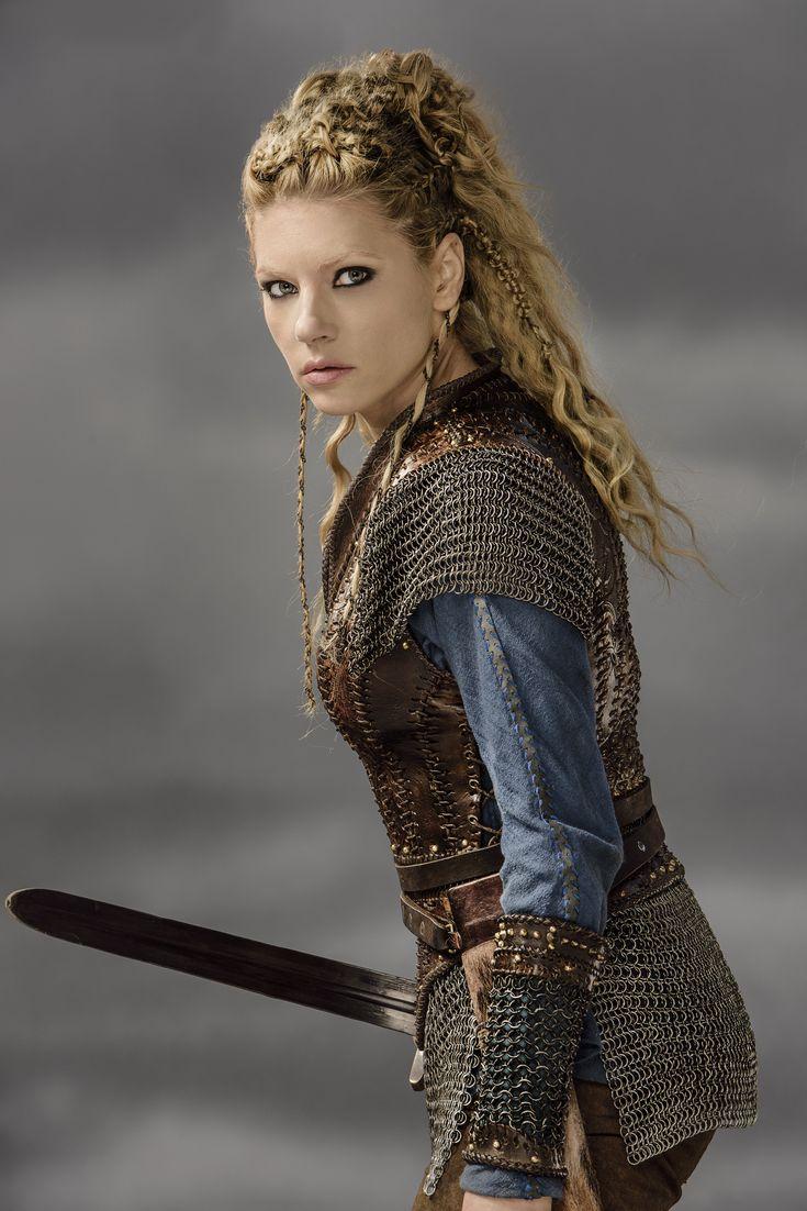 Vikings Lagertha Season 3 Official Picture - Vikings (TV Series ...