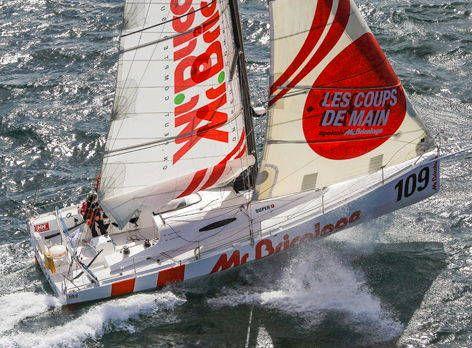 Mr. Bricolage TransAt Racing Boat Free Paper Model Download - http://www.papercraftsquare.com/mr-bricolage-transat-racing-boat-free-paper-model-download.html#Boat, #MrBricolage, #Ship
