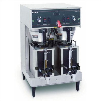 Bunn Dual Satellite Brewer Coffee Maker Brewing Capacity: 18.9 gal./hr. (120 / 208 / 240 V), Type: Dual Setting