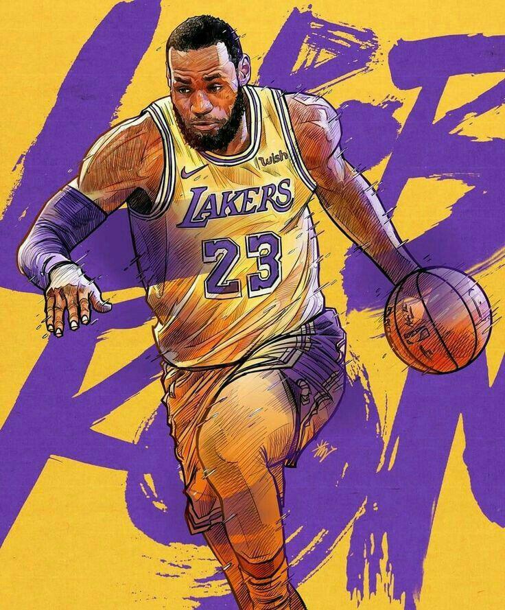 Pin By O Street On Sports James Basketball Nba Basketball Art Lebron James