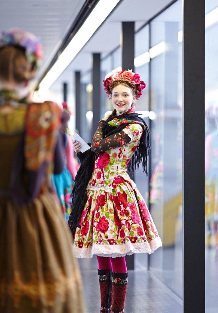 folk / frida inspired fashion by susanne bisovsky (paris 2013)
